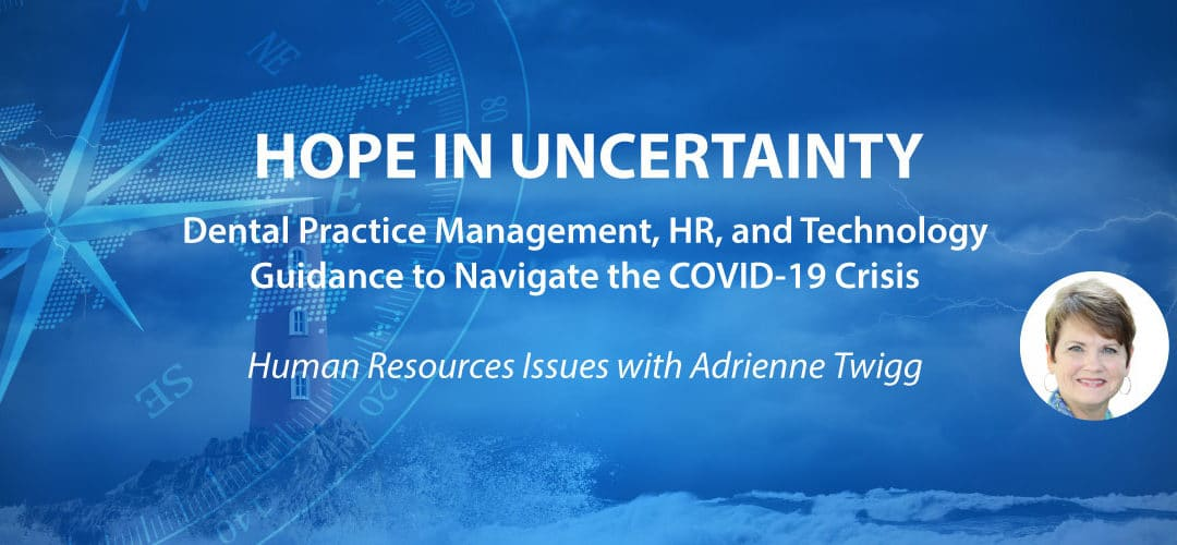 Hope in Uncertainty: Part 1 – HR Issues with Adrienne Twigg