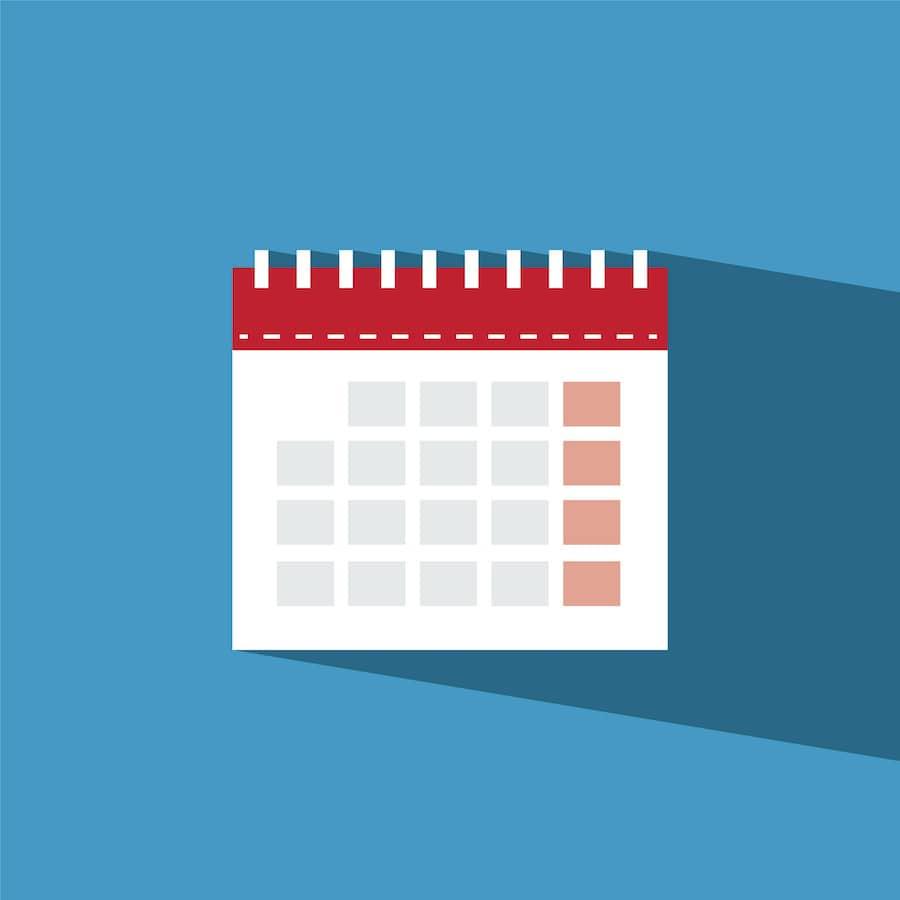 Calendar, All-Star Dental Academy