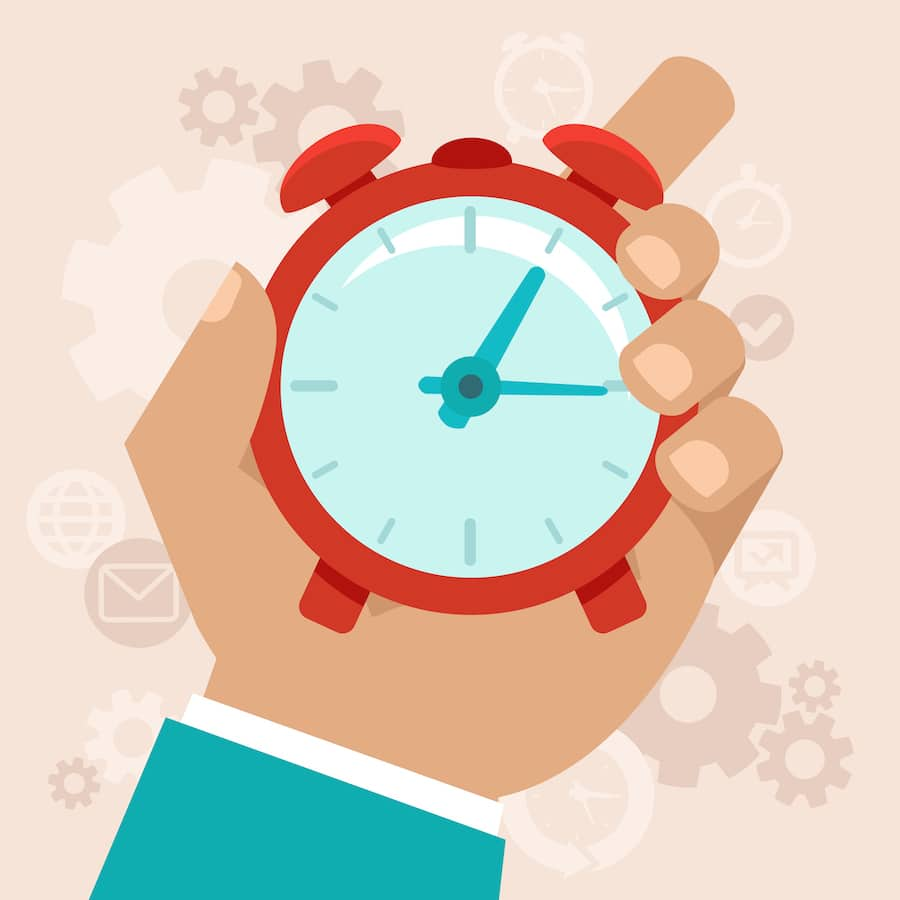 Time Managamement Clock, All-Star Dental Academy