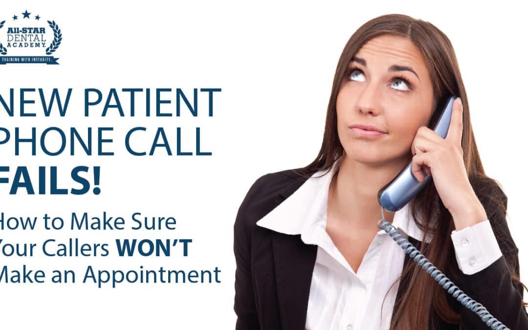 New Patient Phone Call FAILS! Part 2